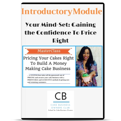 Pricing your Cakes Right to Build A Money Making Cake Business
