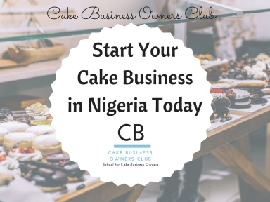 start your cake business