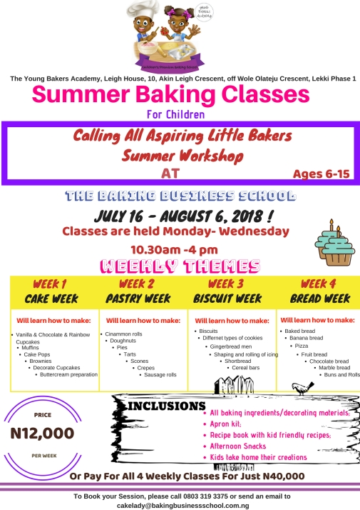 Summer Baking Classes final 1