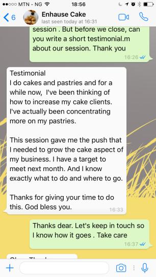 testimony 2